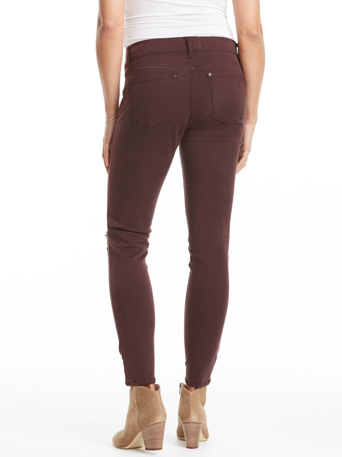 DL1961 Emma Maternity Jean - Reed | TILDEN