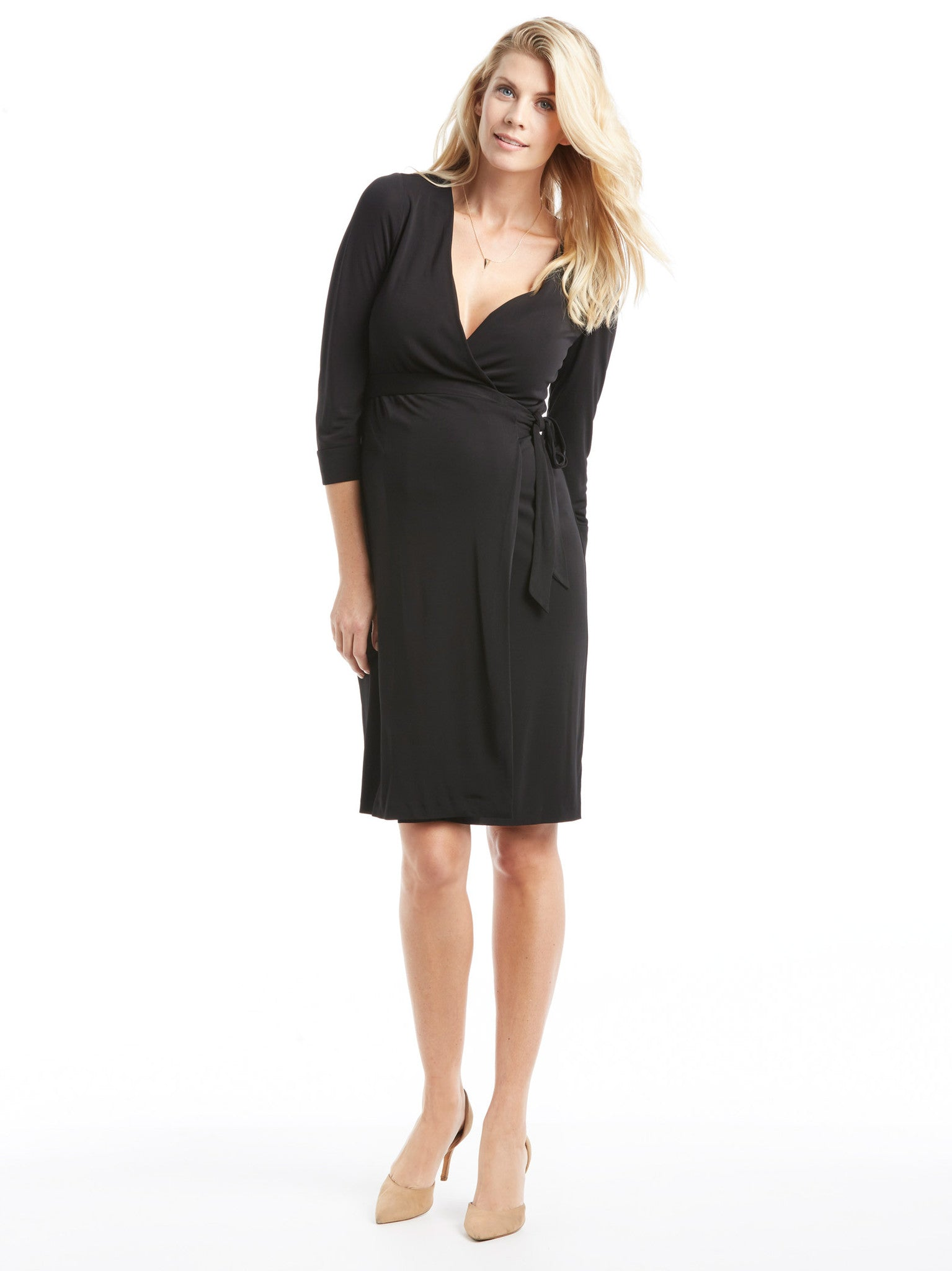 Diane von Furstenberg New Julian Two Dress - Black | TILDEN