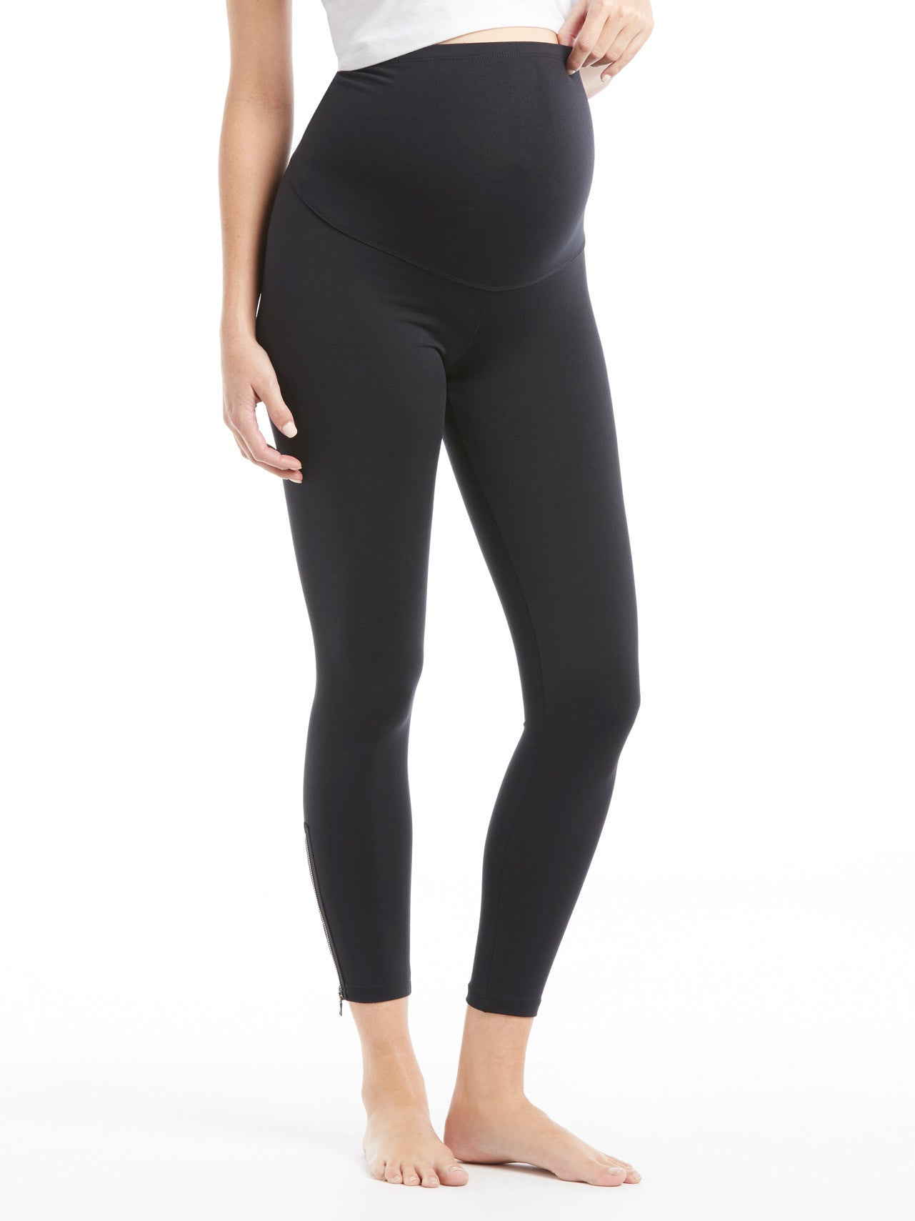 TILDEN | David Lerner Maternity Zipper Legging