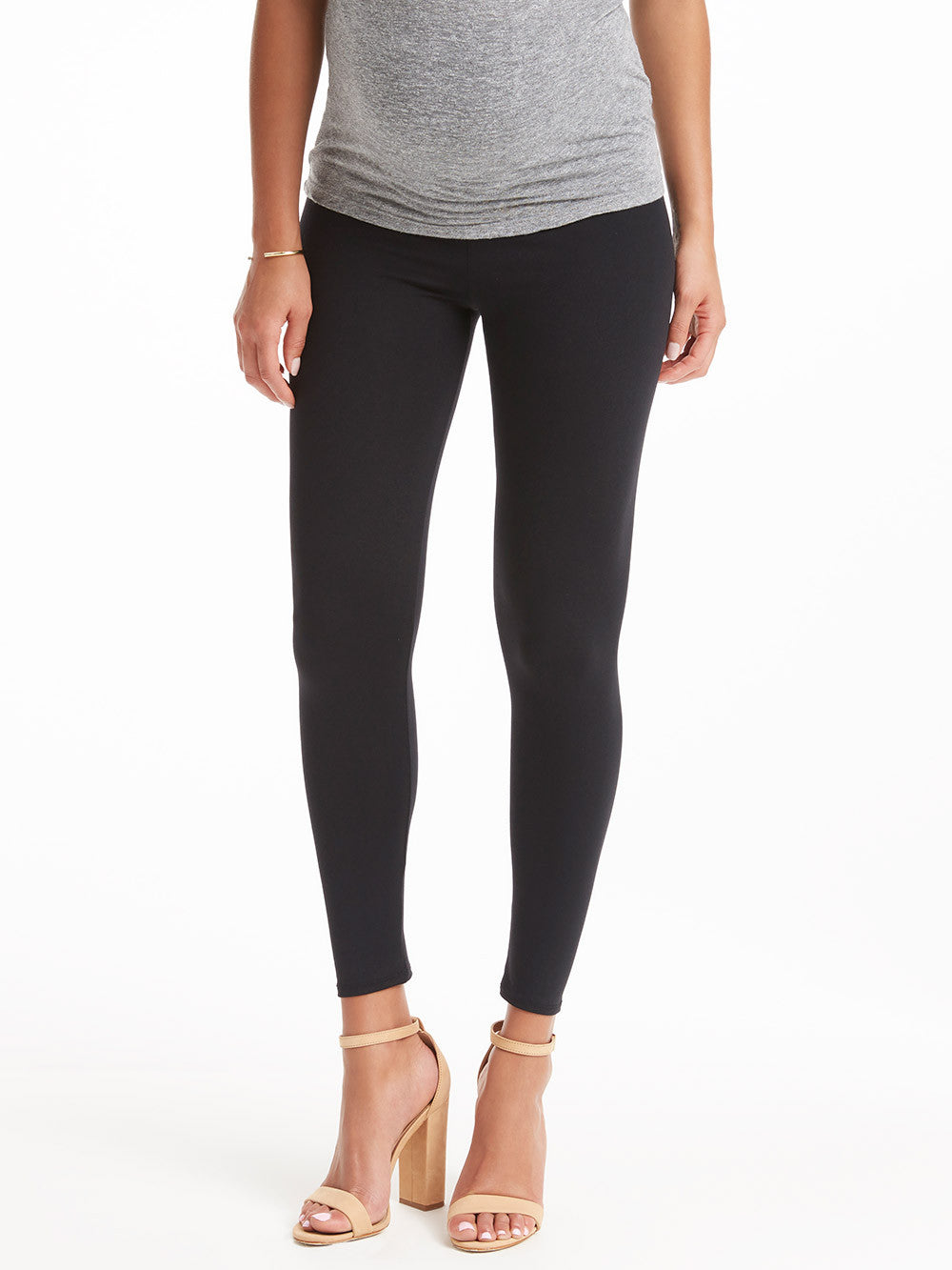 David Lerner Maternity Legging - Black | TILDEN