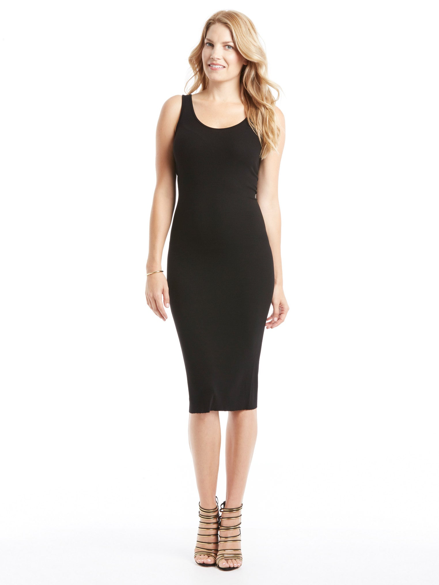 Enza Costa Rib Tank Dress | TILDEN