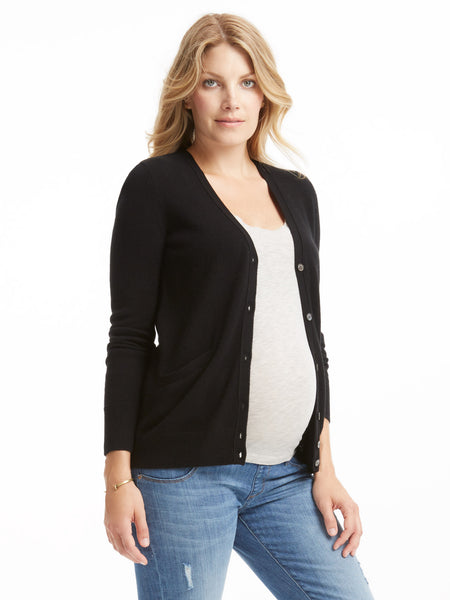 Equipment Sullivan Cashmere Cardigan - Black | TILDEN