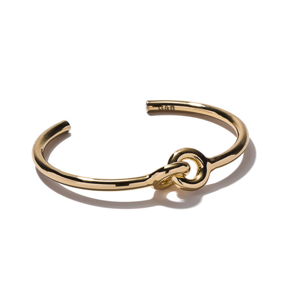 TILDEN | Giles & Brother Gold Archer Skinny Cuff
