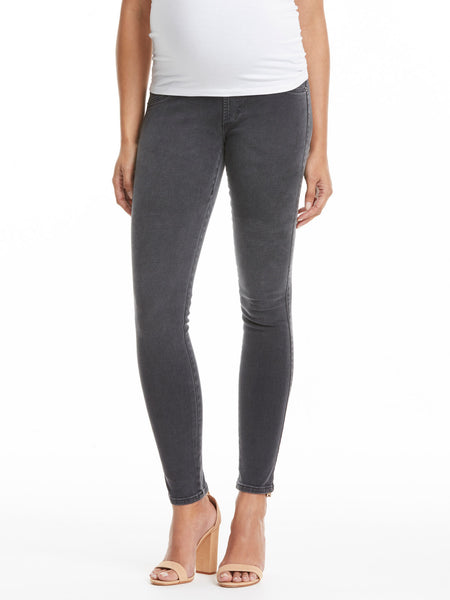 TILDEN | James Jeans Twiggy Maternity Jean with Belly Panel - Slate II