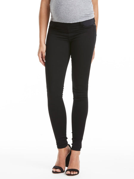 TILDEN | James Jeans Twiggy Maternity Jean - Black Swan