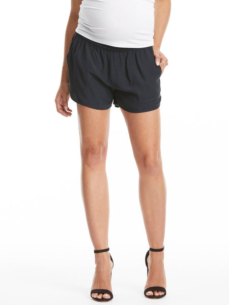 TILDEN | Joie Silky Black Short