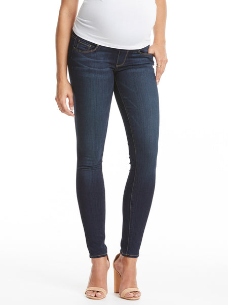 TILDEN | Paige Verdugo Maternity Jean with Belly Panel - Armstrong