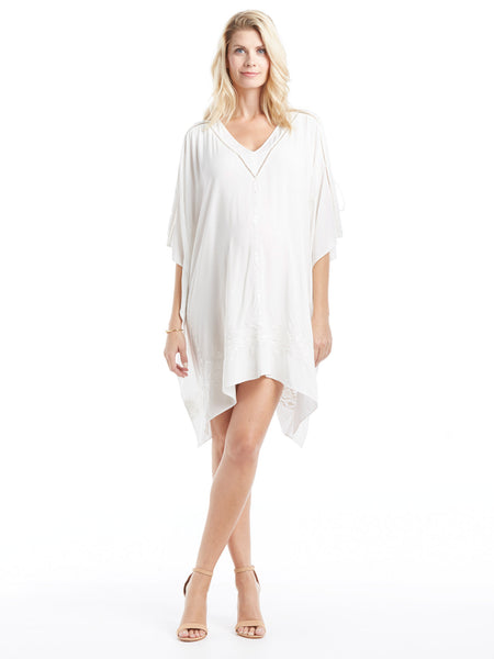 Parker Oceana Cover Up - Ivory | TILDEN