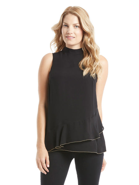 Parker Rozlynn Top - Black | TILDEN