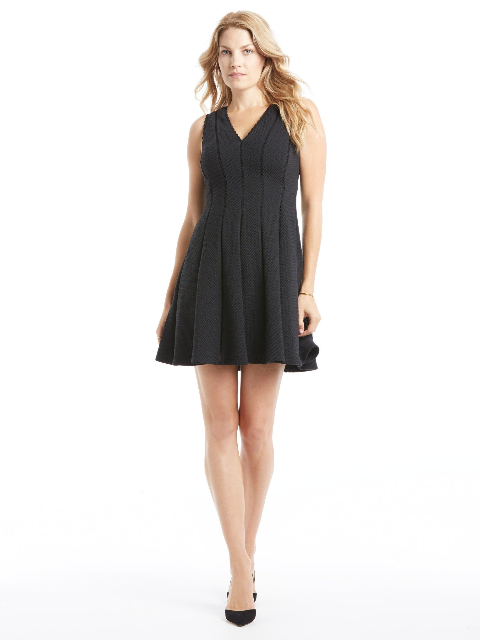 TILDEN | Rebecca Taylor Diamond Texture Dress