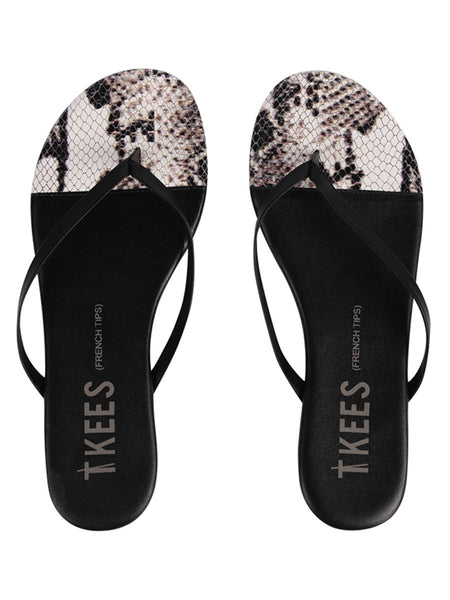 TKEES Diamondback French Tips Sandals | TILDEN