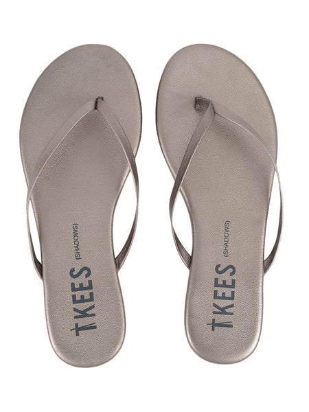 TKEES Frosty Grey Shadows Sandals | TILDEN