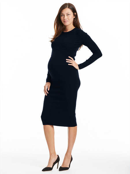 A.L.C. Watson Dress - Midnight | TILDEN