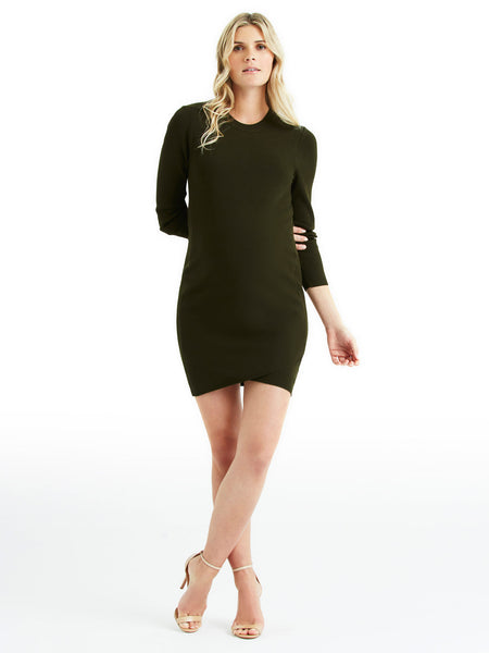 A.L.C. Lara Dress - Seaweed | TILDEN
