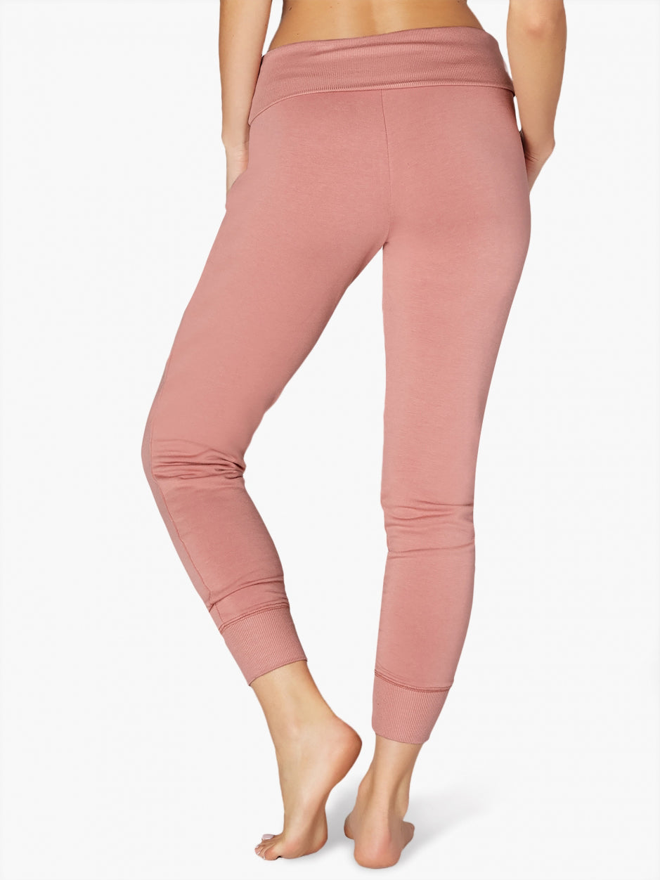 TILDEN | Beyond Yoga Cozy Fleece Foldover Long Sweatpant