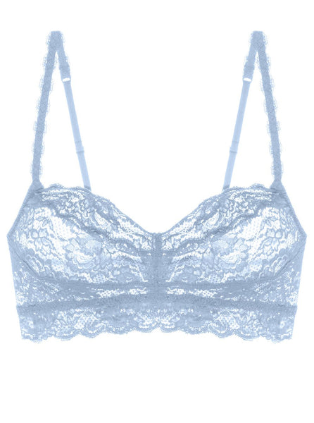 Cosabella Never Say Never Lace Bralette - Nebbia | TILDEN