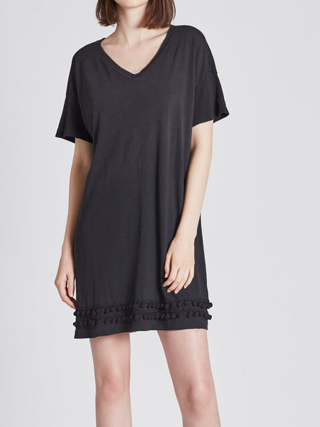 Current/Elliott Pom Pom Tee Dress | TILDEN
