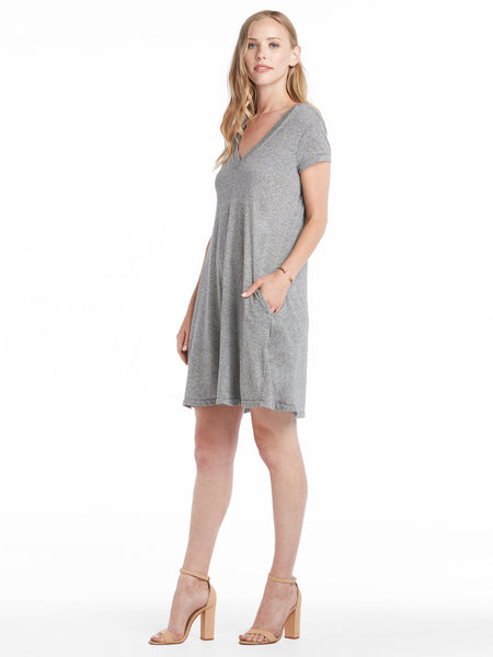 TILDEN | Current/Elliott V-Neck Trapeze Dress