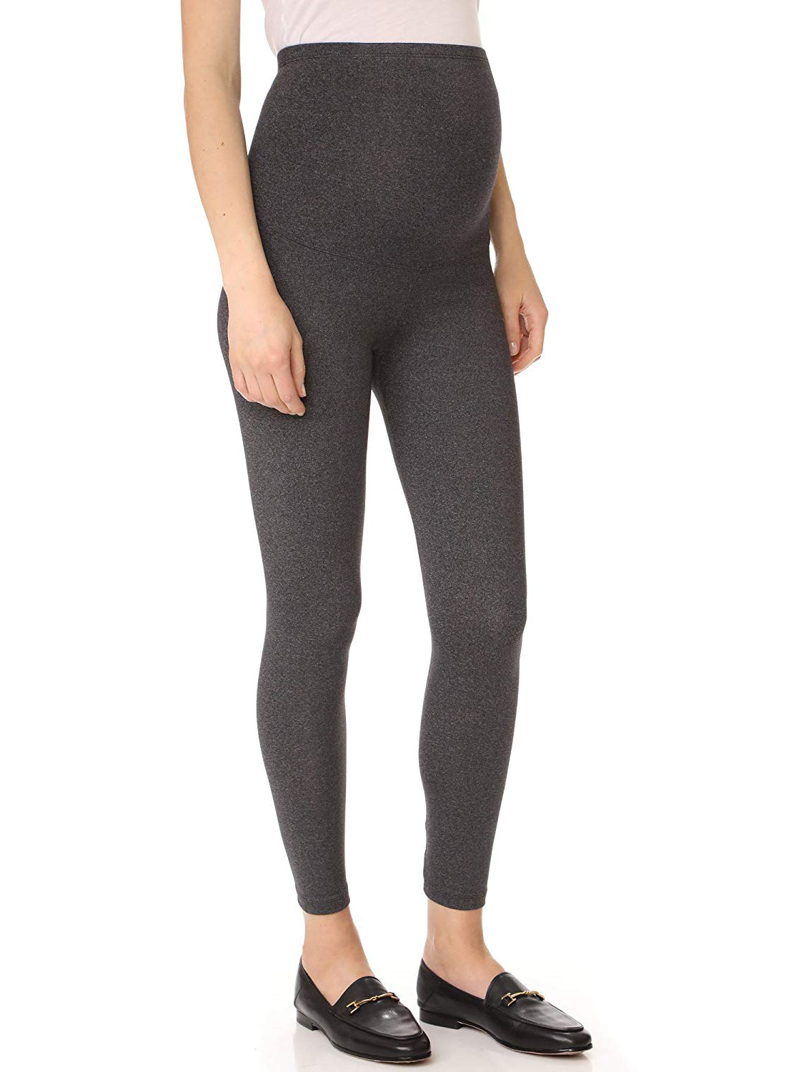 a4d52115ffc02 David Lerner Women's Maternity Leggings - Charcoal Grey | TILDEN