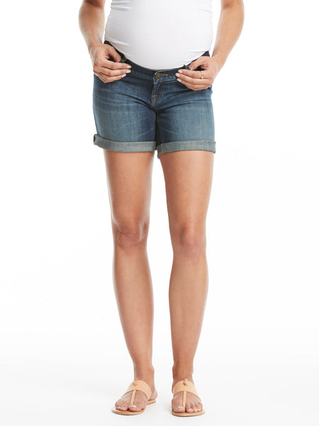 TILDEN | DL1961 Karlie Maternity Boyfriend Shorts - Webster