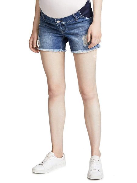 TILDEN | DL1961 Karlie Maternity Jean Shorts - Sprawling