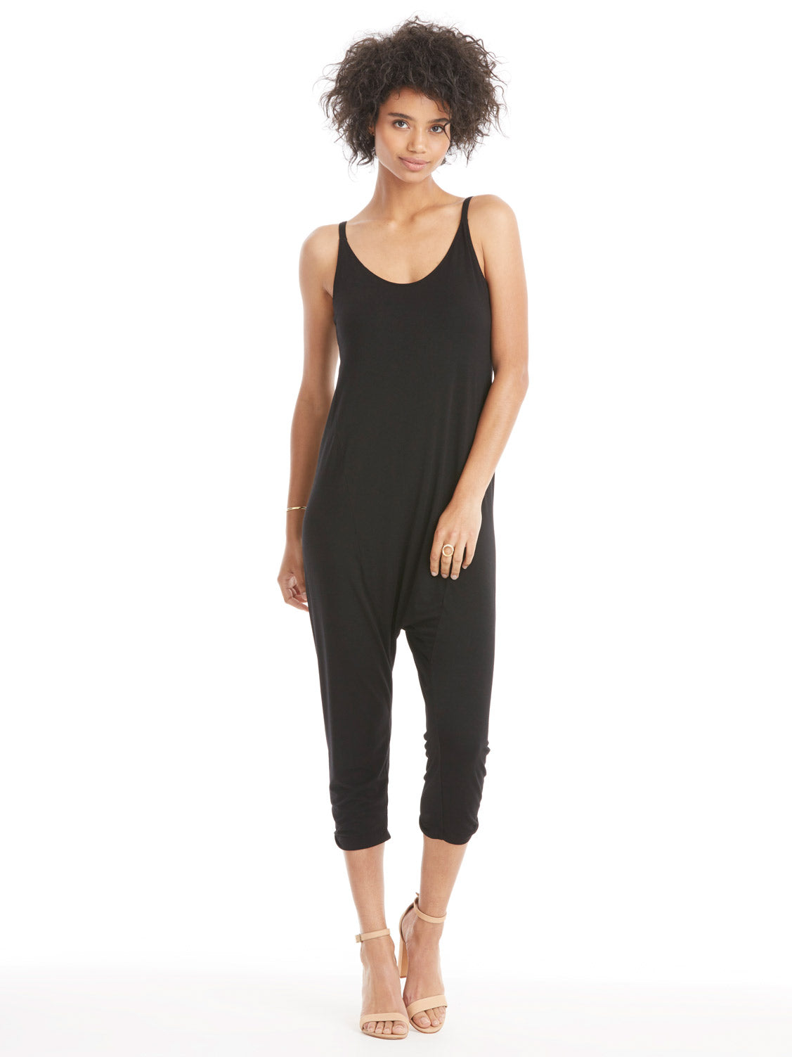 TILDEN | Enza Costa Strappy Drop Rise Jumpsuit