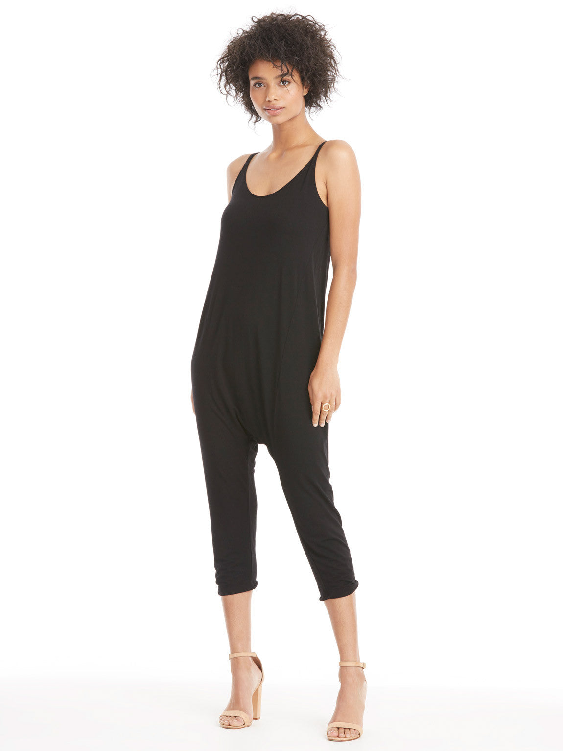 Enza Costa Strappy Drop Rise Jumpsuit | TILDEN