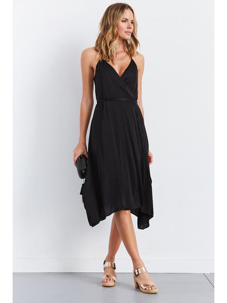 TILDEN | Enza Costa Strappy Wrap Dress