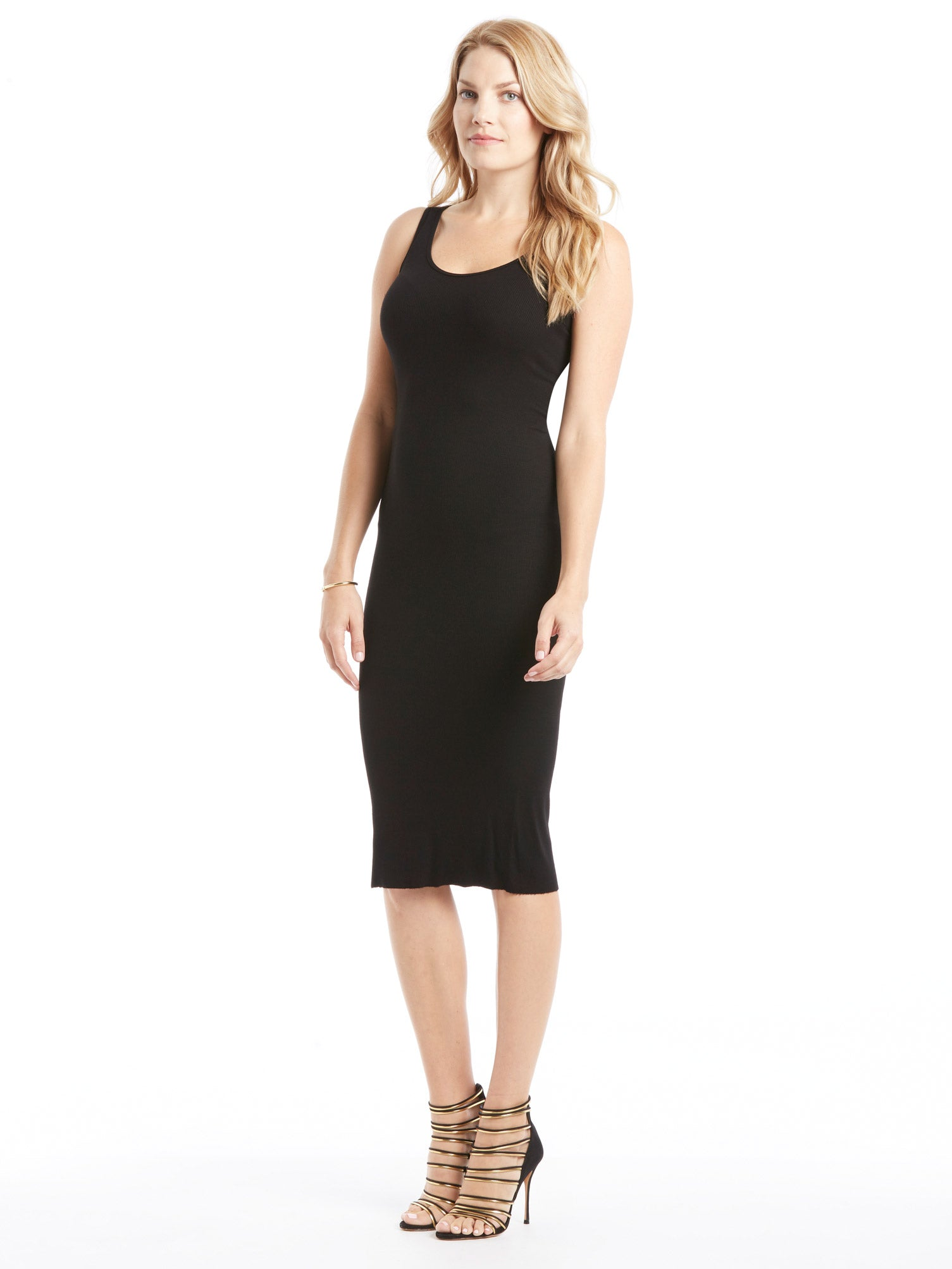 TILDEN | Enza Costa Rib Tank Dress