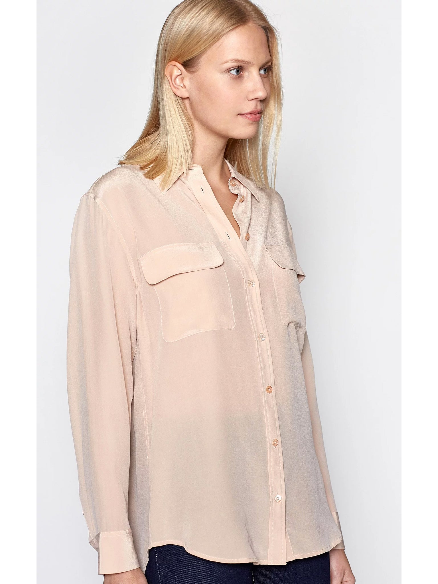 TILDEN | Equipment Signature Silk Shirt