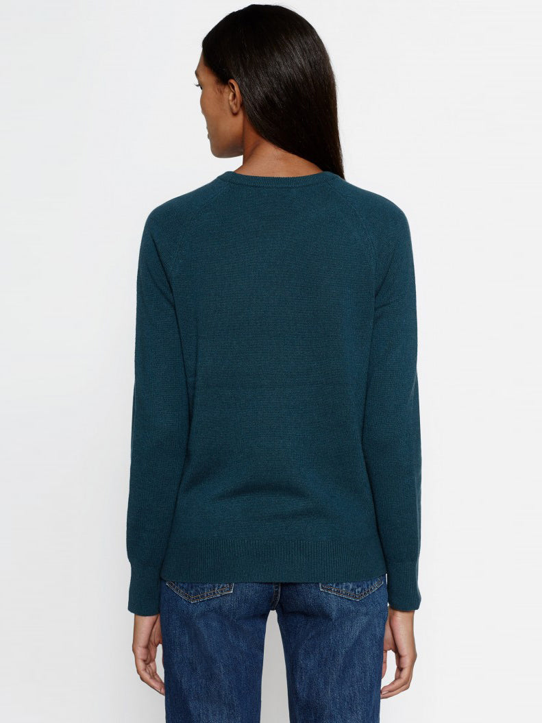 Equipment Sloane Cashmere Crewneck Sweater - Eden Green | TILDEN