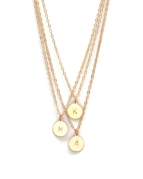 Jennifer Tuton Initial Necklace | TILDEN