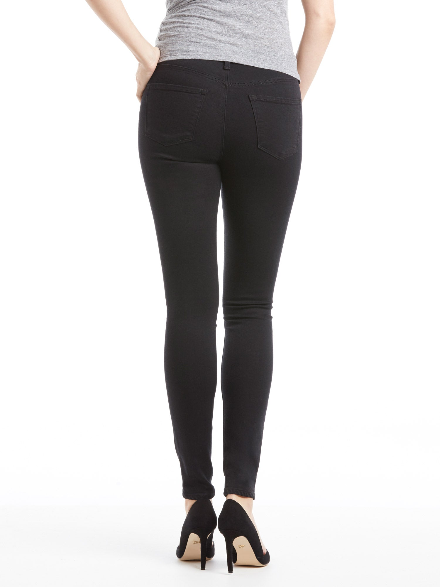TILDEN | J Brand Mama J Super Skinny Jean - Seriously Black