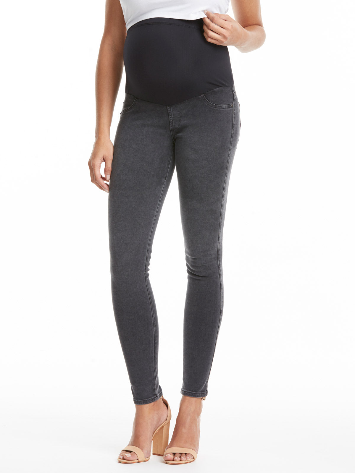 TILDEN | James Jeans Twiggy Maternity Jean - Slate II
