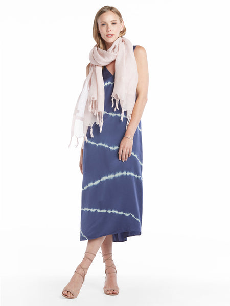 TILDEN | Love Quotes Linen Fringe Scarf - Multiple Colors Available