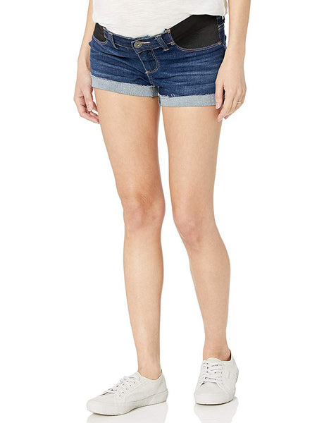 Paige Jimmy Jimmy Maternity Jean Shorts - Enchant Medium Wash | TILDEN