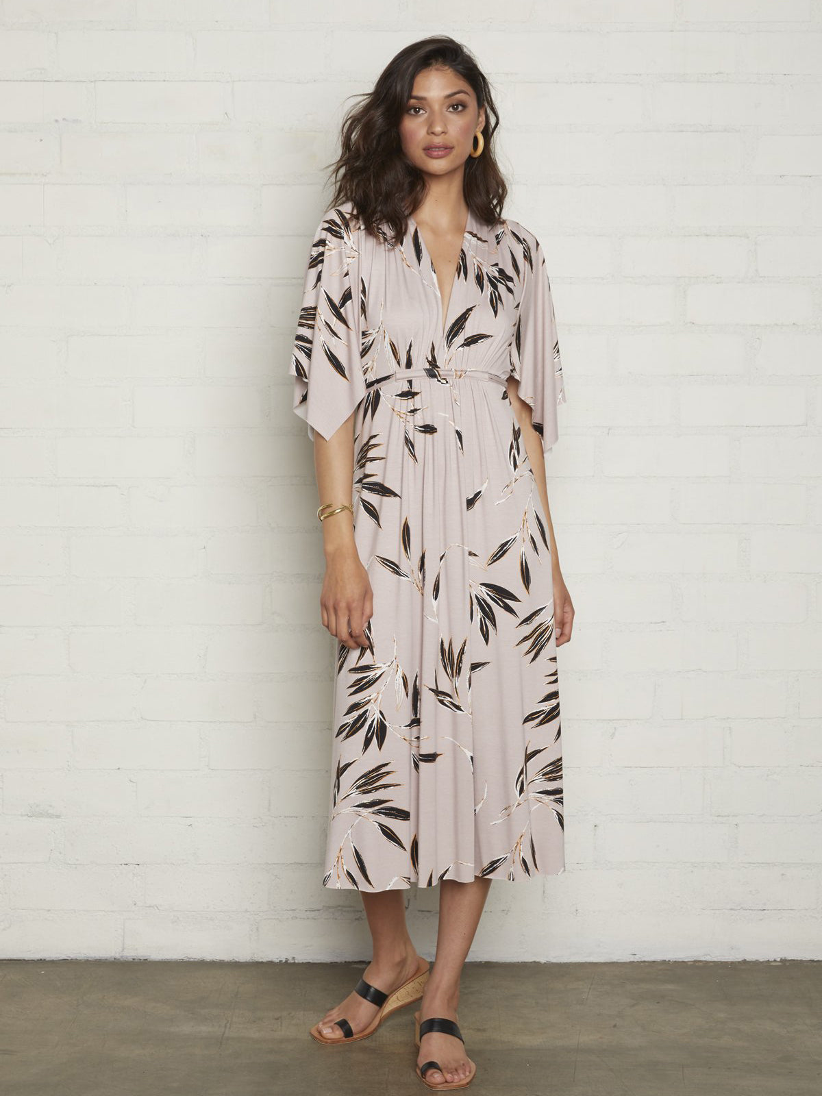 Rachel Pally Maternity Mid-Length Caftan Dress - Cane Print | TILDEN