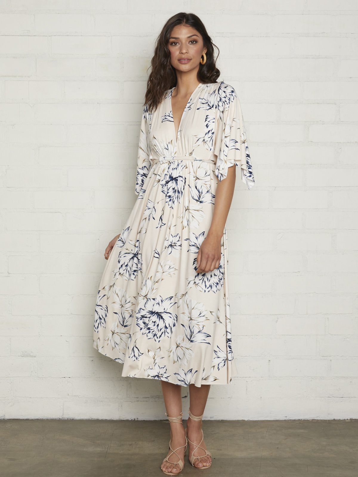 Rachel Pally Mid-Length Caftan Dress - Fleur Print | TILDEN