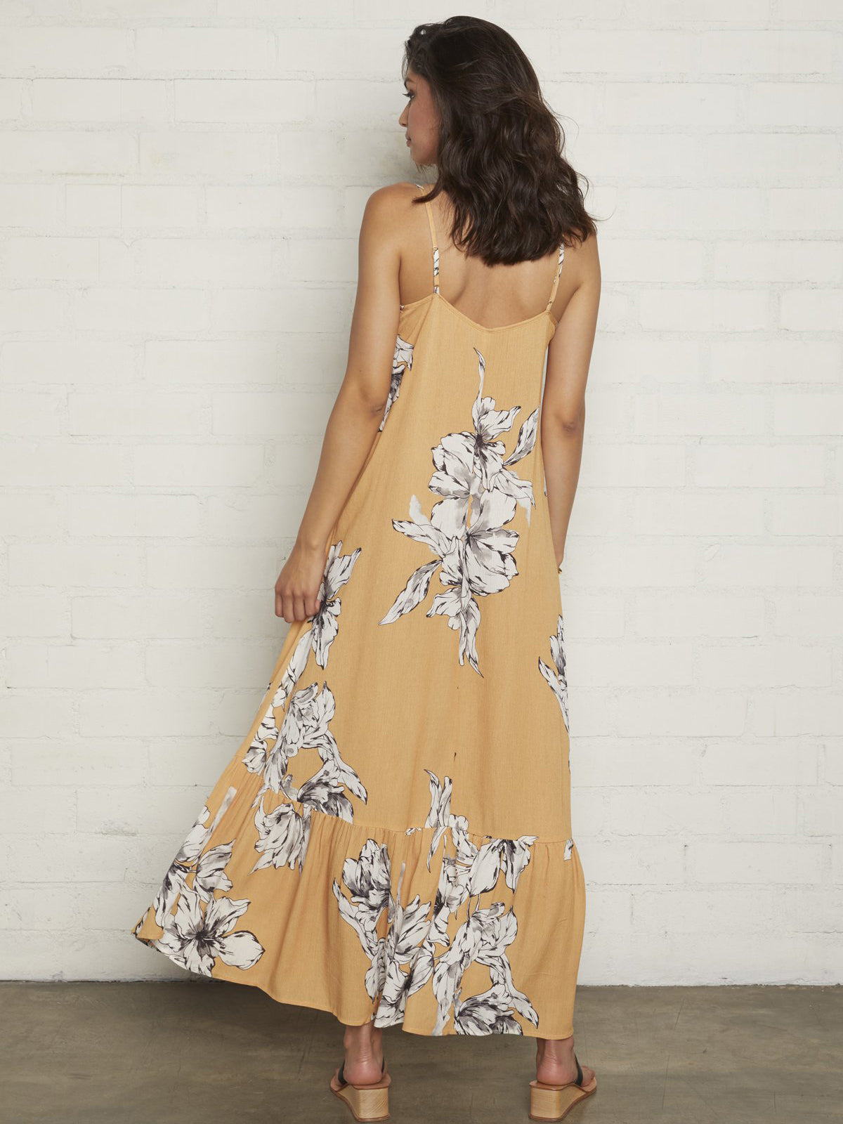 Rachel Pally Cilla Maxi Dress - Provence Yellow Floral Print | TILDEN