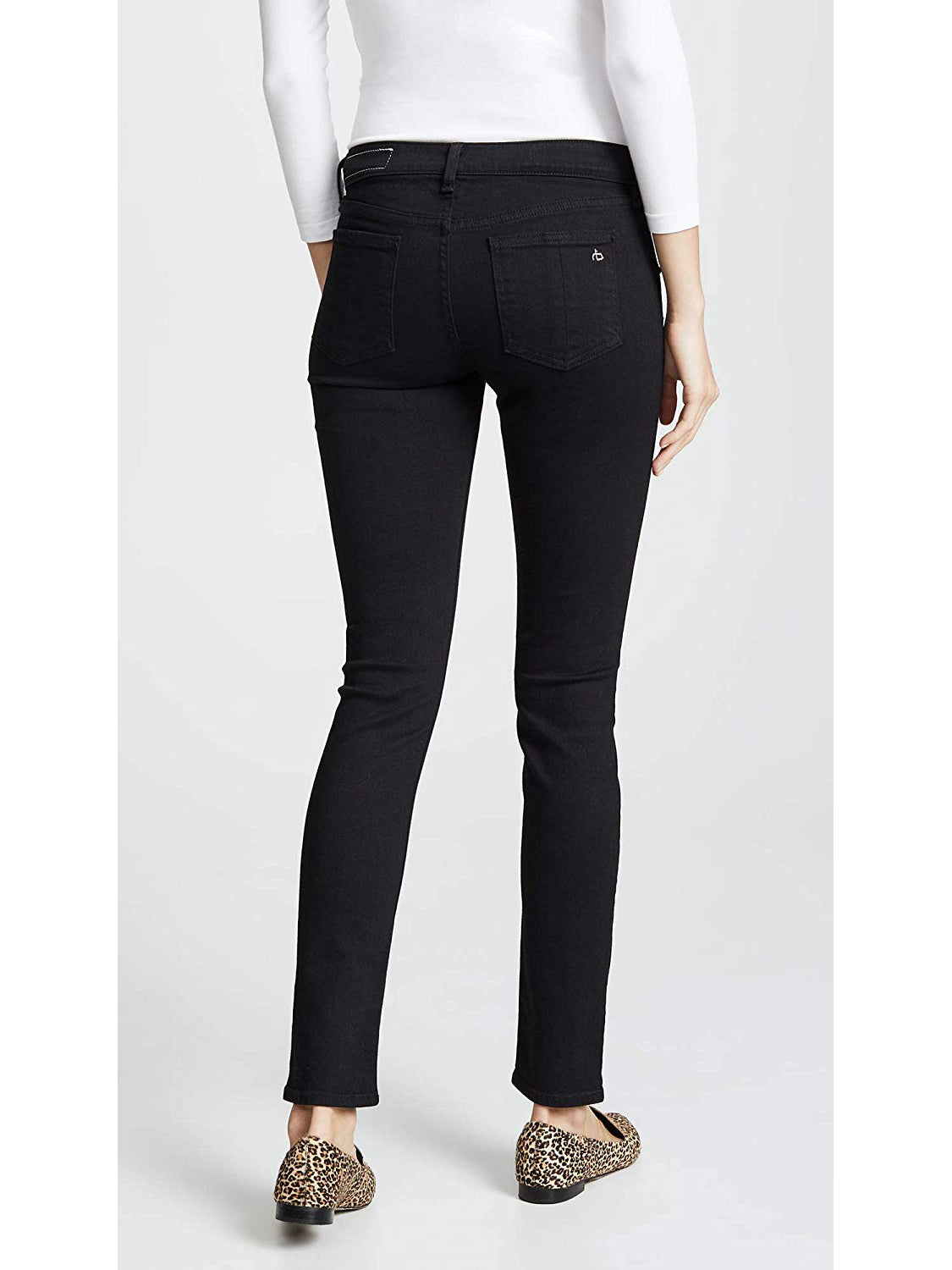 Rag & Bone / JEAN Skinny Maternity Jeans - Coal Black | TILDEN
