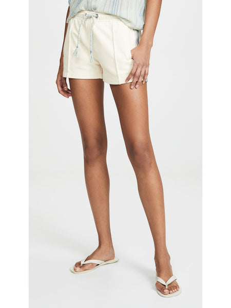 Rag & Bone JEAN Molly Striped Trim Shorts - Ivory White | TILDEN