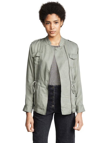 Rails Miles Jacket - Sage Green Twill | TILDEN