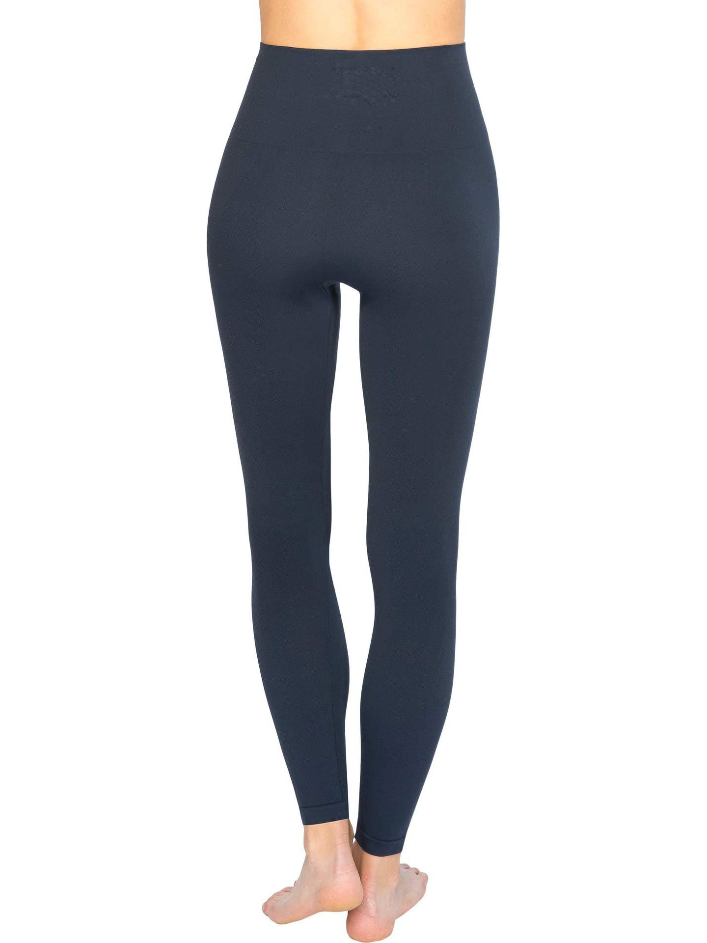 SPANX Look at Me Now Seamless Leggings - Port Navy | TILDEN