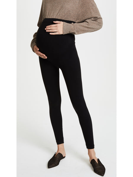 SPANX Mama Look at Me Now Seamless Maternity Leggings - Black | TILDEN