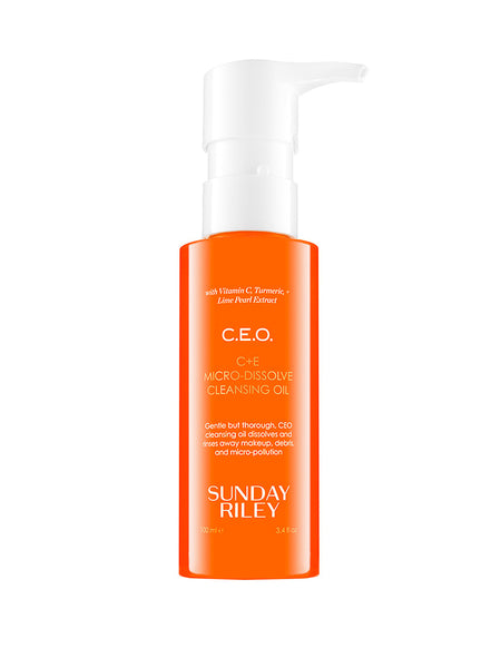 Sunday Riley C.E.O. C Plus E Micro-Dissolve Cleansing Oil | TILDEN