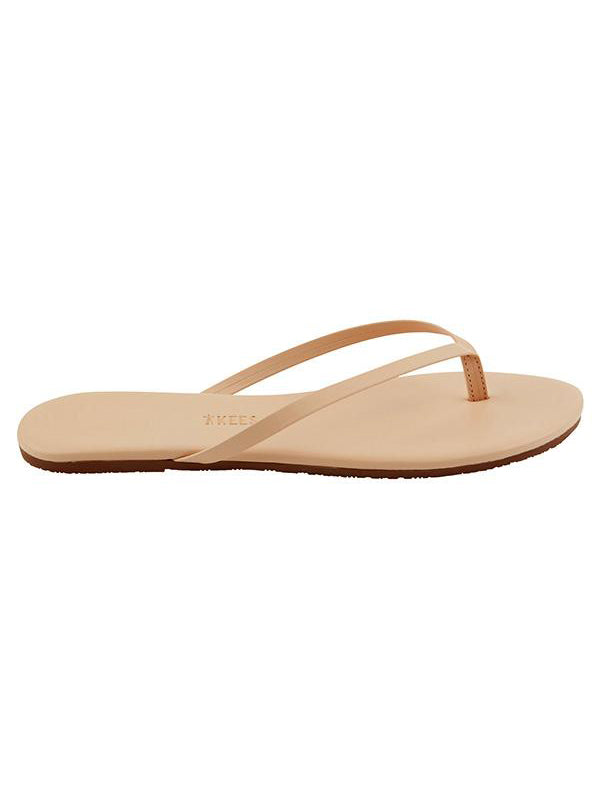 TKEES Lily Leather Sandals - Sunkissed | TILDEN