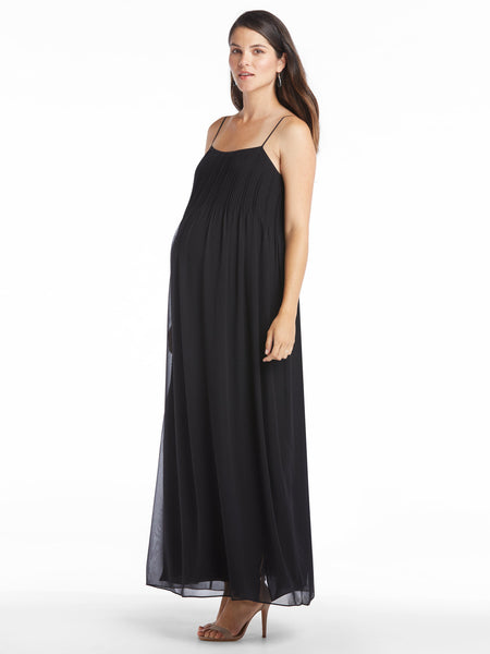Vince Pintuck Maxi Dress | TILDEN