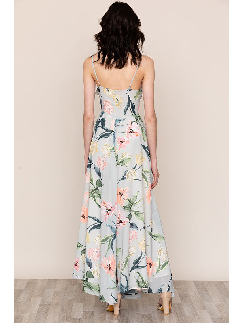 Yumi Kim Peace and Love Maxi Dress Westview Moon Floral Print | TILDEN