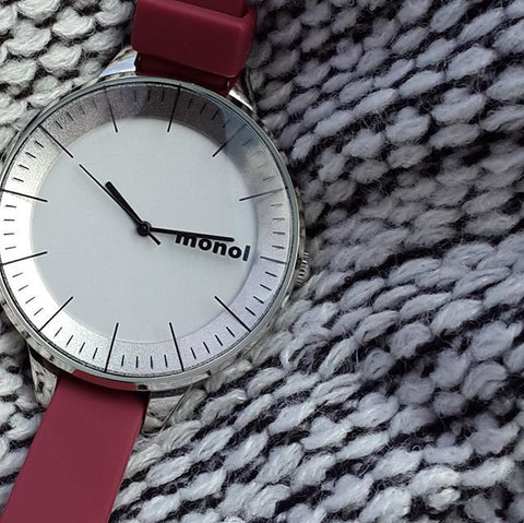 Monol Denmark VISIBLE Watch in Red