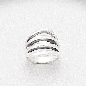 Julianne Sterling Silver Open Ring